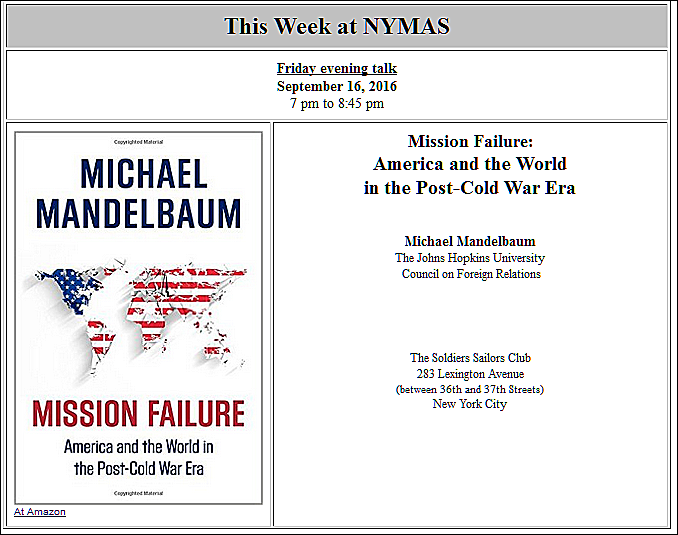 scholarly visions of post cold war Share how the cold war can explain our current standoff with russia.