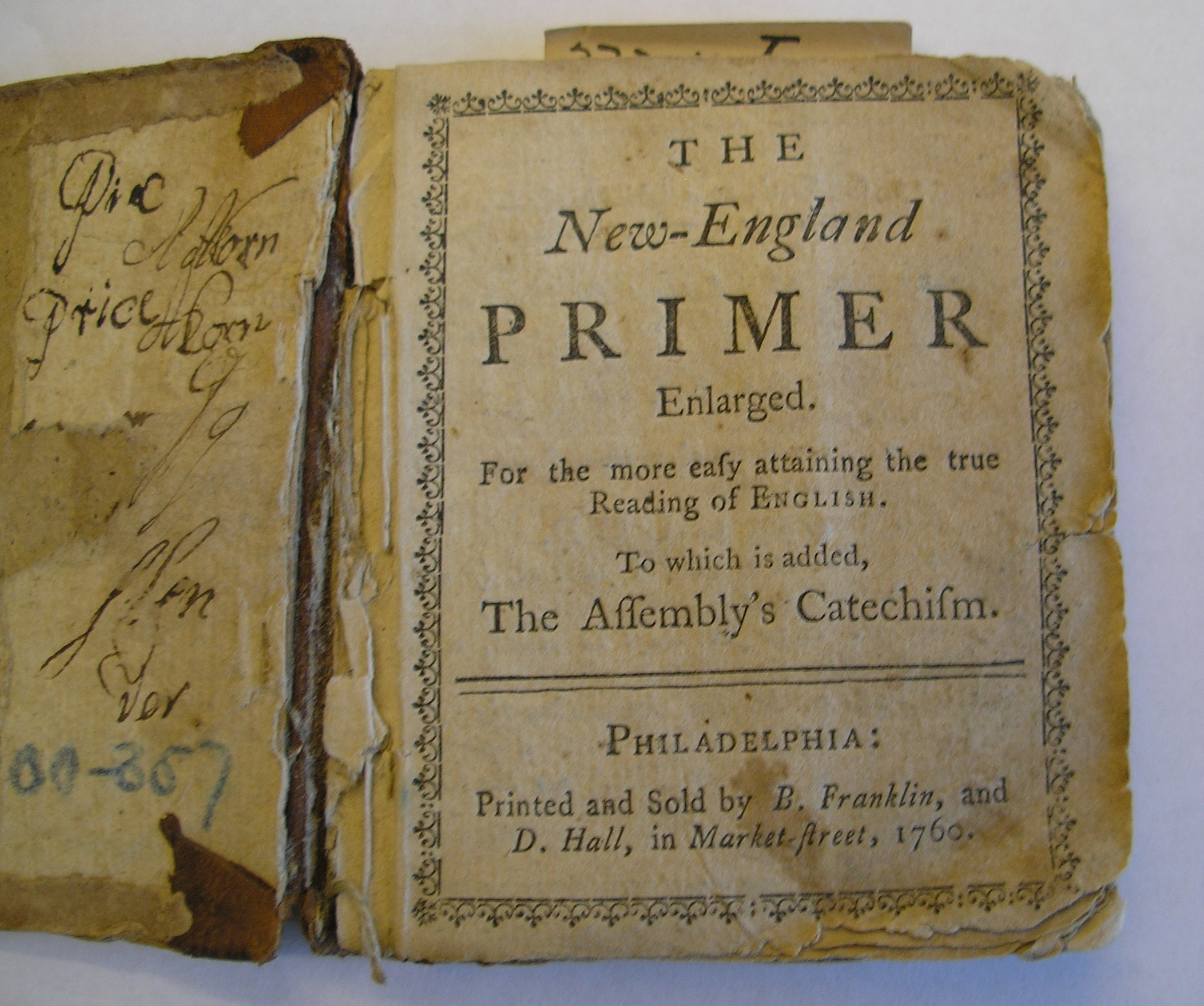The New England Primer H Amstdy H Net