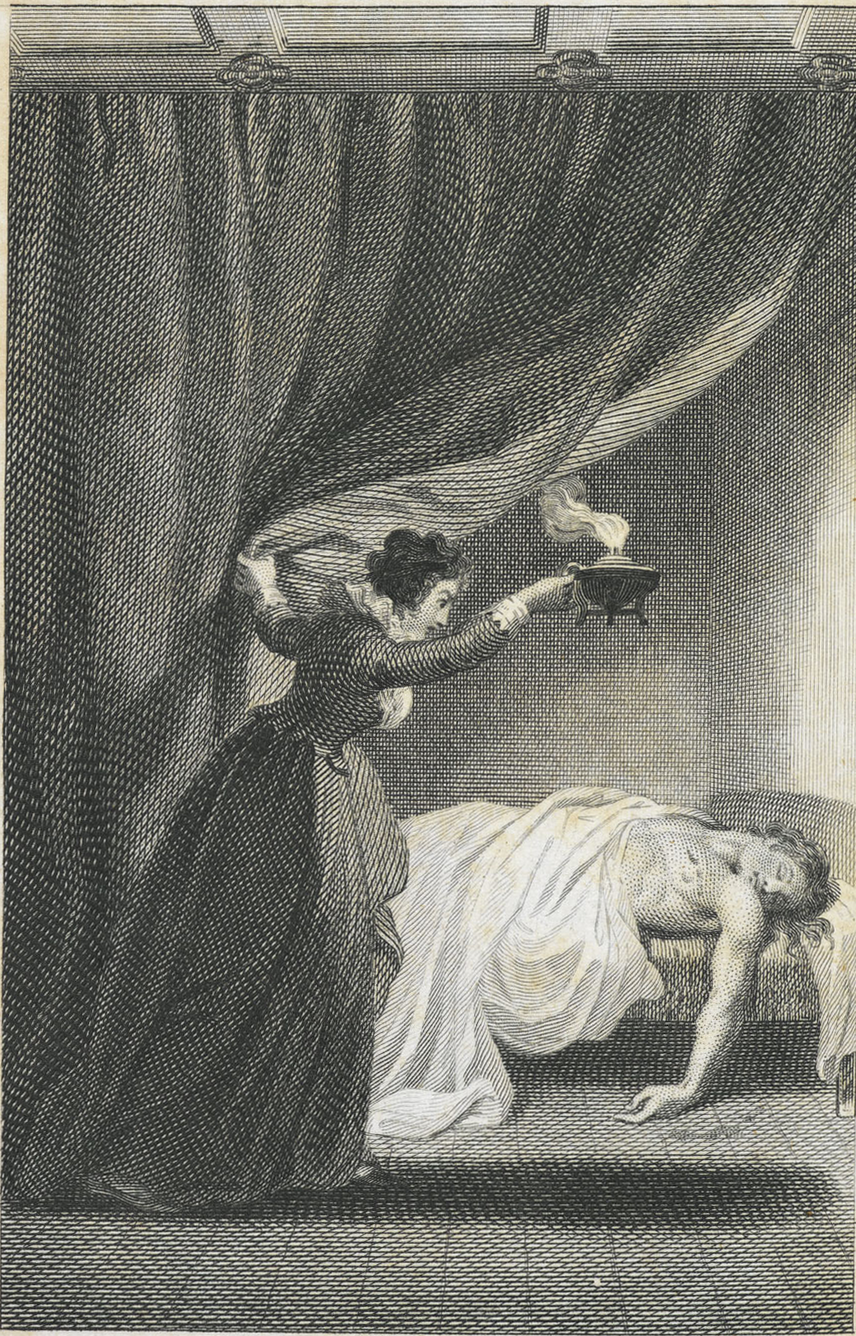 Illustration to Ann Radcliffe's The Mysteries of Udolpho   H-Net   H-Net