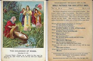 5  Sunday School Lesson Cards | H-PCAACA | H-Net