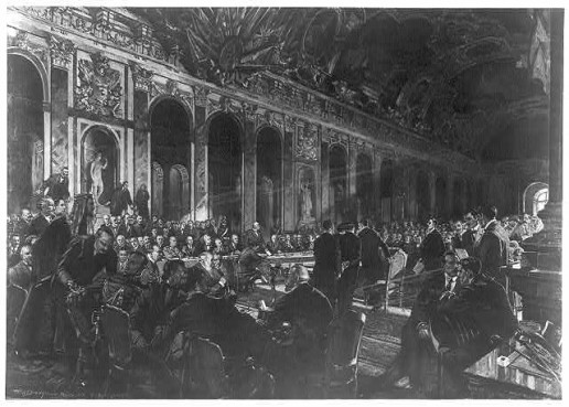 Delegates Sign The Versailles Treaty World War I